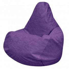 ГРУША микровелюр фиолетовый 027