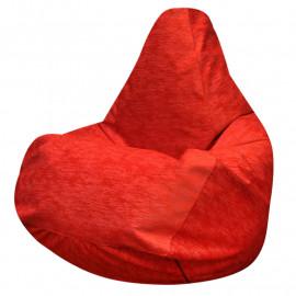 ГРУША микровелюр красный 028