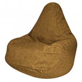 ГРУША-XXXL рогожка коричневый s-10