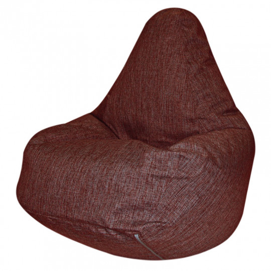 ГРУША-XXXL рогожка красный 3D