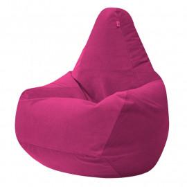 ГРУША велюр с текстурой розовый ф-541