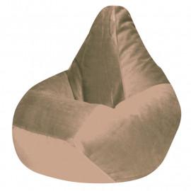 КАМЕДИ велюр бархатистый кремовый э-03