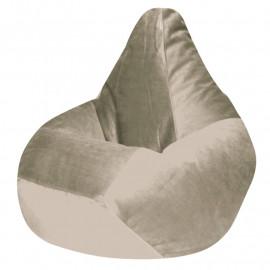 КАМЕДИ велюр бархатистый молочный э-02