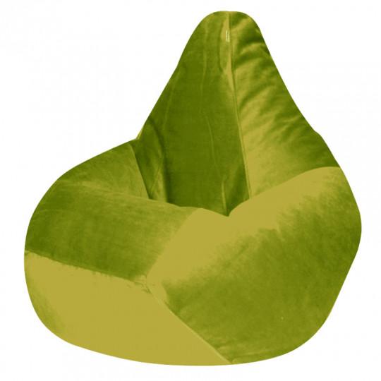 КАМЕДИ велюр бархатистый оливковый э-21