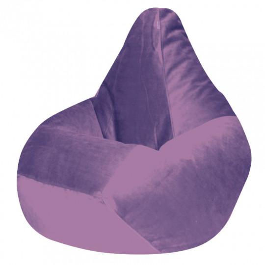 КАМЕДИ велюр бархатистый сиреневый э-23