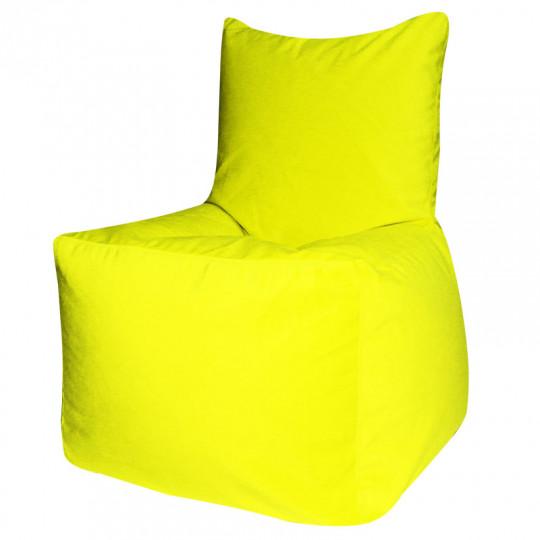 КОМФОРТ велюр бархатистый ярко-желтый э-22