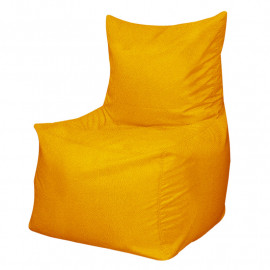 КОМФОРТ велюр с текстурой желтый ф-007