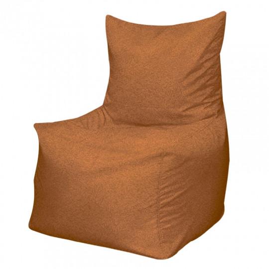 КОМФОРТ велюр с тиснением коричневый 509