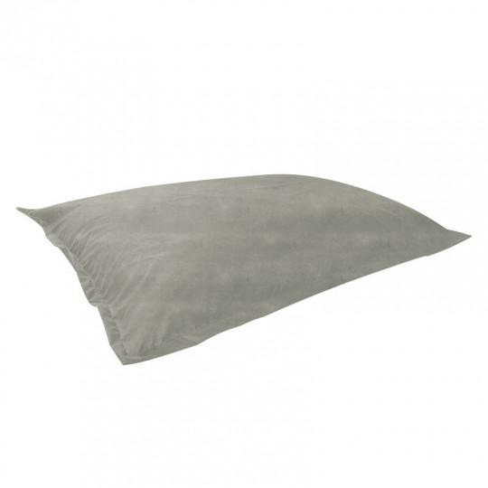 МАТ (ПОДУШКА) велюр бархатистый белый э-01