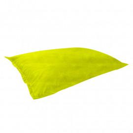 МАТ (ПОДУШКА) велюр бархатистый ярко-желтый э-22