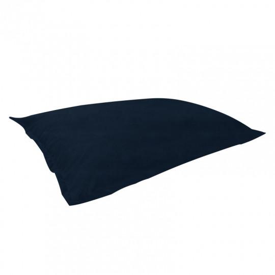 МАТ (ПОДУШКА) велюр бархатистый темно-синий э-34