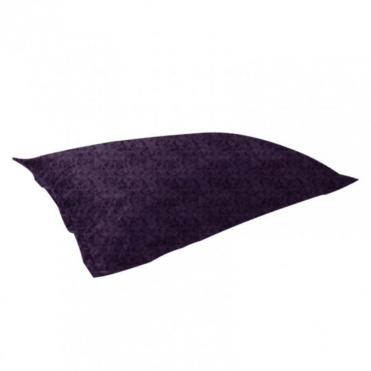"""МАТ (ПОДУШКА) велюр """"пятна"""" фиолетовый 012"""