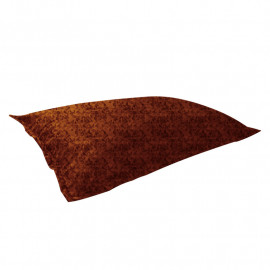 "МАТ (ПОДУШКА) велюр ""пятна"" коричневый 536"