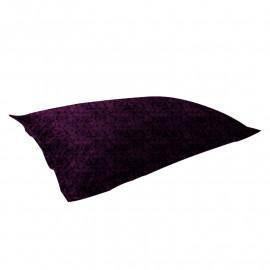 "МАТ (ПОДУШКА) велюр ""пятна"" пурпурный 540"