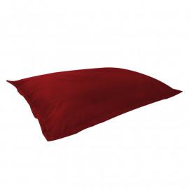 МАТ (ПОДУШКА) велюр с текстурой бордовый ф-013