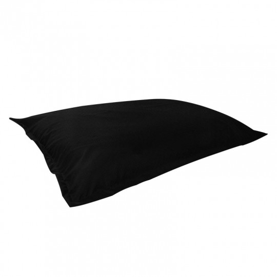 МАТ (ПОДУШКА) велюр с текстурой черный ф-018