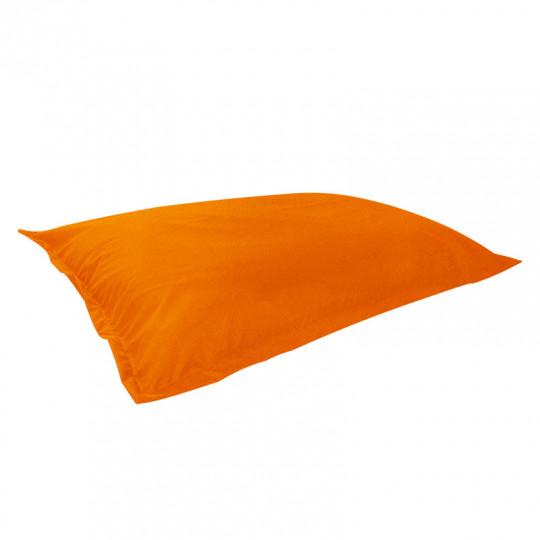 МАТ (ПОДУШКА) велюр с текстурой оранжевый ф-008