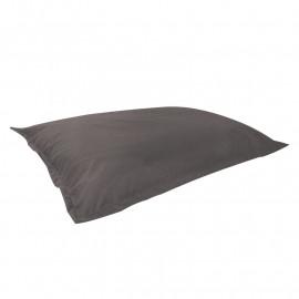 МАТ (ПОДУШКА) велюр с текстурой серый ф-017