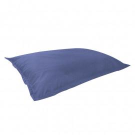 МАТ (ПОДУШКА) велюр с текстурой сине-голубой ф-732