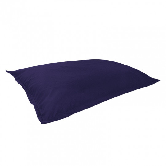 МАТ (ПОДУШКА) велюр с текстурой синий ф-564