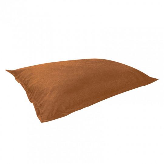 МАТ (ПОДУШКА) велюр с тиснением горький коричневый 509