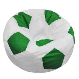 МЯЧ полиэстер белый с зеленым