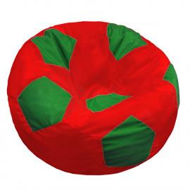 МЯЧ полиэстер красный с зеленым