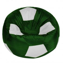 МЯЧ полиэстер зеленый с белым