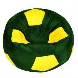 МЯЧ полиэстер зеленый с желтым