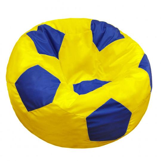 МЯЧ полиэстер желтый с синим