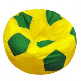 МЯЧ полиэстер желтый с зеленым