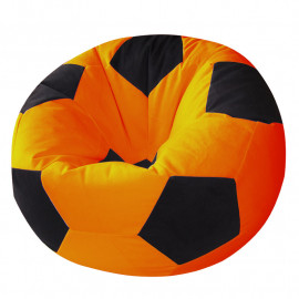 МЯЧ велюр оранжевый с черным