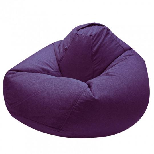 ПРОСТОРНОЕ рогожка фиолетовый 1D