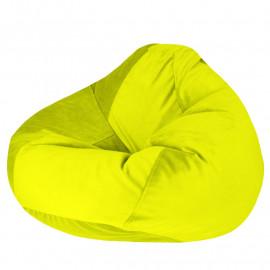 ПРОСТОРНОЕ велюр бархатистый ярко-желтый э-22