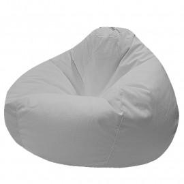 ПРОСТОРНОЕ велюр с текстурой белый ф-001