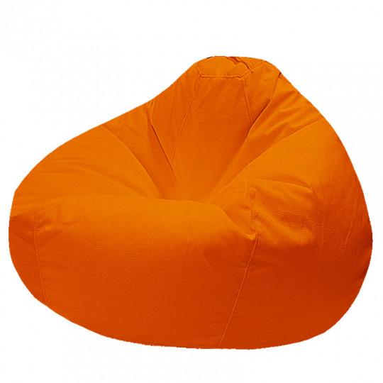 ПРОСТОРНОЕ велюр с текстурой оранжевый ф-008