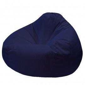 ПРОСТОРНОЕ велюр с текстурой синий ф-564