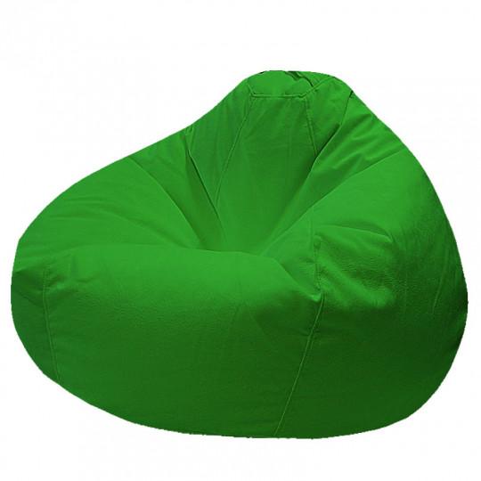 ПРОСТОРНОЕ велюр с текстурой зеленый ф-522