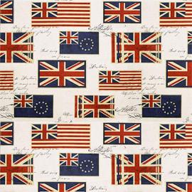 ПРОСТОРНОЕ жаккард флаг