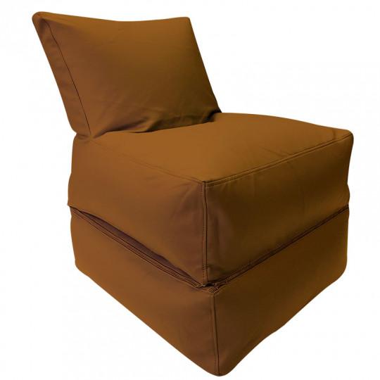 РЕЛАКС (ТРАНСФОРМЕР) экокожа коричневый 111