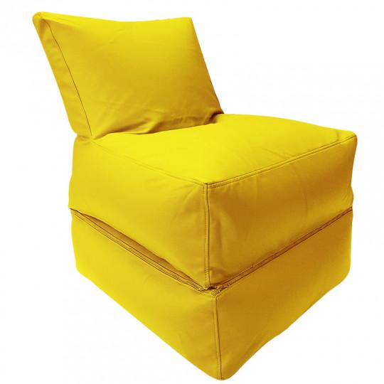 РЕЛАКС (ТРАНСФОРМЕР) экокожа желтый 411