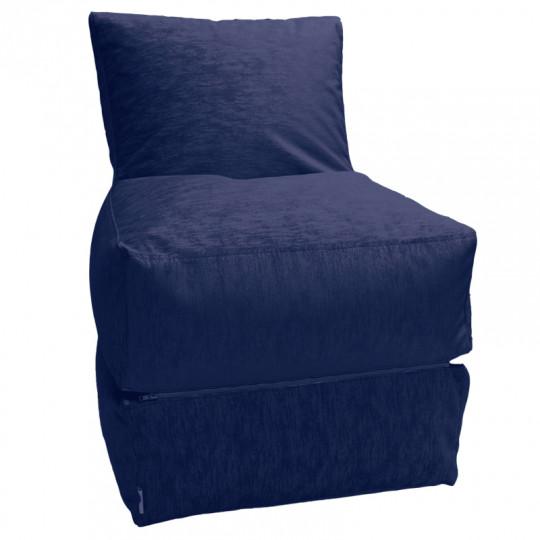 РЕЛАКС (ТРАНСФОРМЕР) микровелюр синий 034