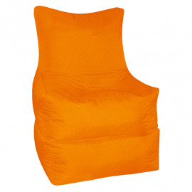 РЕЛАКС (ТРАНСФОРМЕР) велюр с текстурой оранжевый ф-008