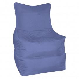 РЕЛАКС (ТРАНСФОРМЕР) велюр с текстурой сине-голубой ф-732