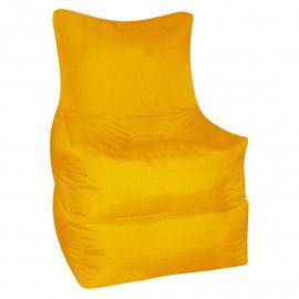 РЕЛАКС (ТРАНСФОРМЕР) велюр с текстурой желтый ф-007
