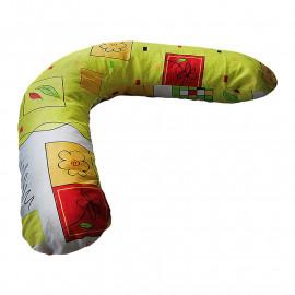 Подушка для беременных БУМЕРАНГ с наволочкой вернисаж