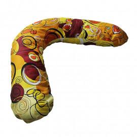 Подушка для беременных БУМЕРАНГ с наволочкой загадка