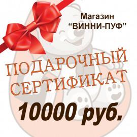 Подарочный сертификат на сумму 10000