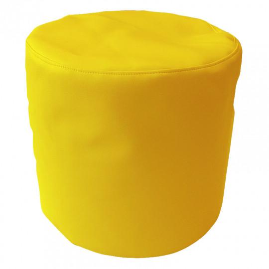 ЦИЛИНДР экокожа желтый 411