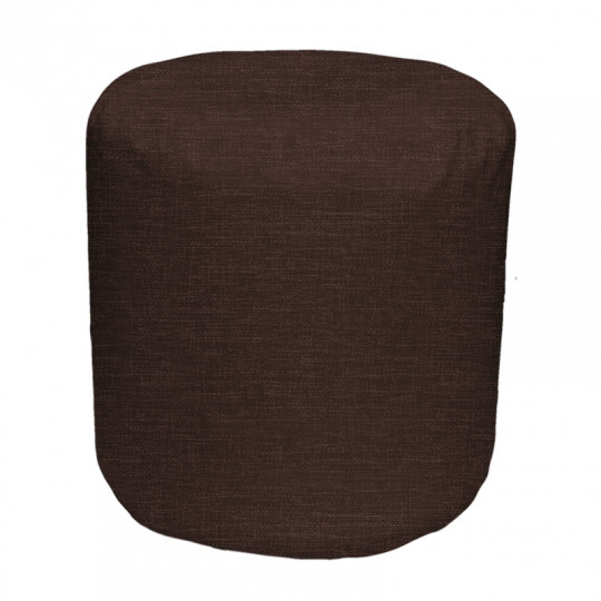 ЦИЛИНДР рогожка темно-коричневый 15D